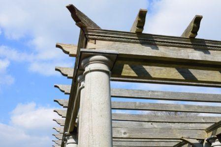 P rgolas de madera tipos usos acabados y madera m s - Pergolas de madera malaga ...