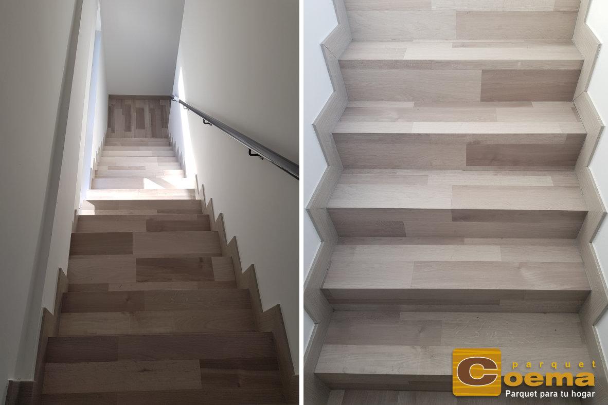Escaleras laminado marbella