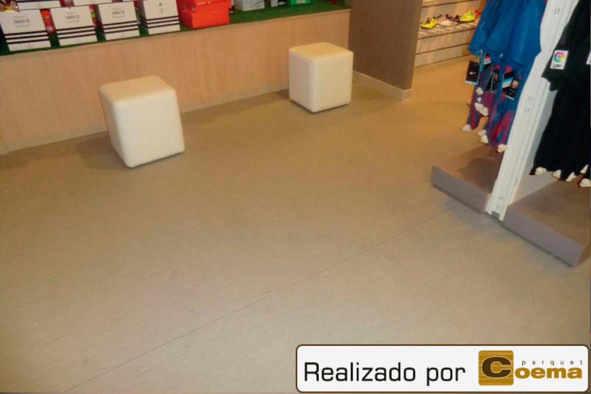 Pavimentos PVC MALAGA