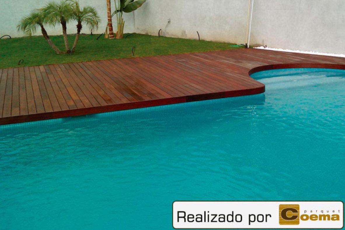 Tarimas exteriores en piscinas
